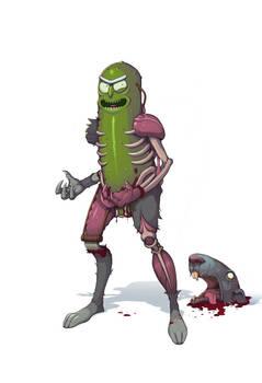 Pickle Rick.