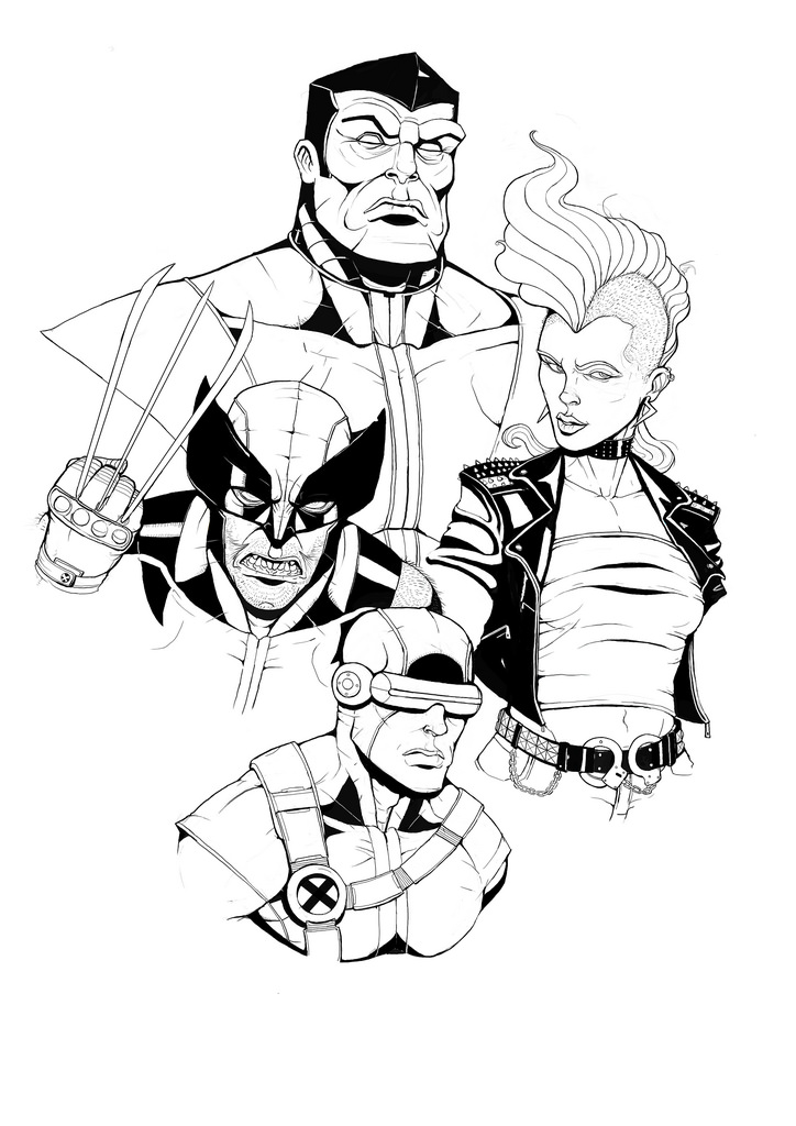 Instagram x-men by Teratophile