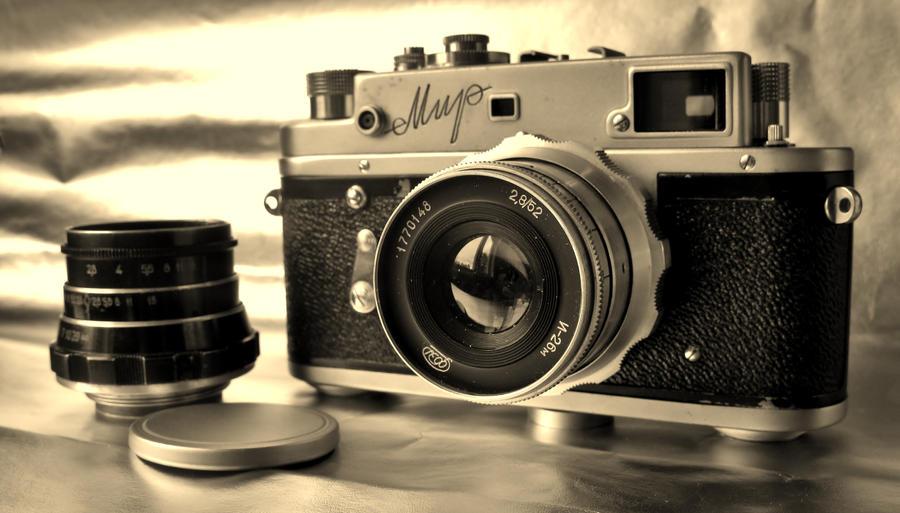 Old camera by mixxon on DeviantArt