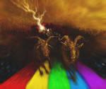 Rainbow Bridge By Kevinnichols