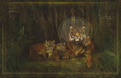 Mama Tiger by KevinNichols