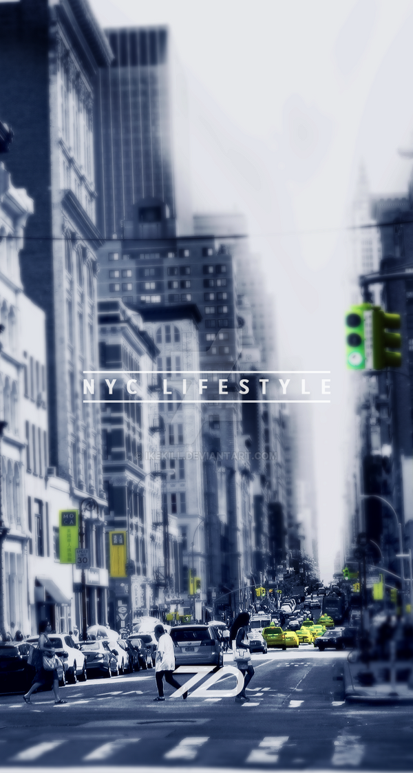 Wallpaper Iphone 5 5s 5c NYC By Ikekill