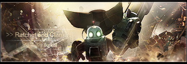 Ratchet and Clank tag (old) by ikekill
