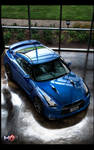 NISSAN GTR BLUE