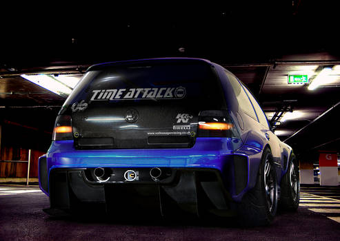 vw golf time attack
