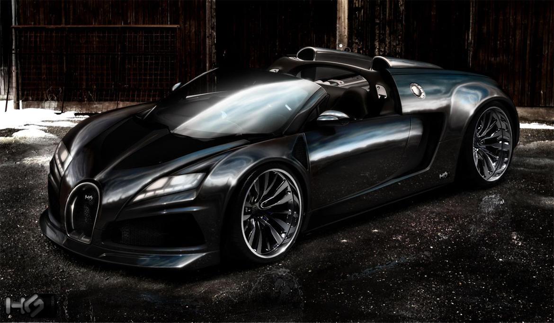 Bugatti EB 210 concept by hugosilva