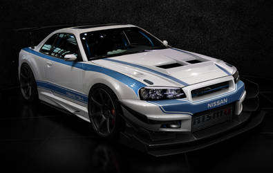 nissan r34 time attack