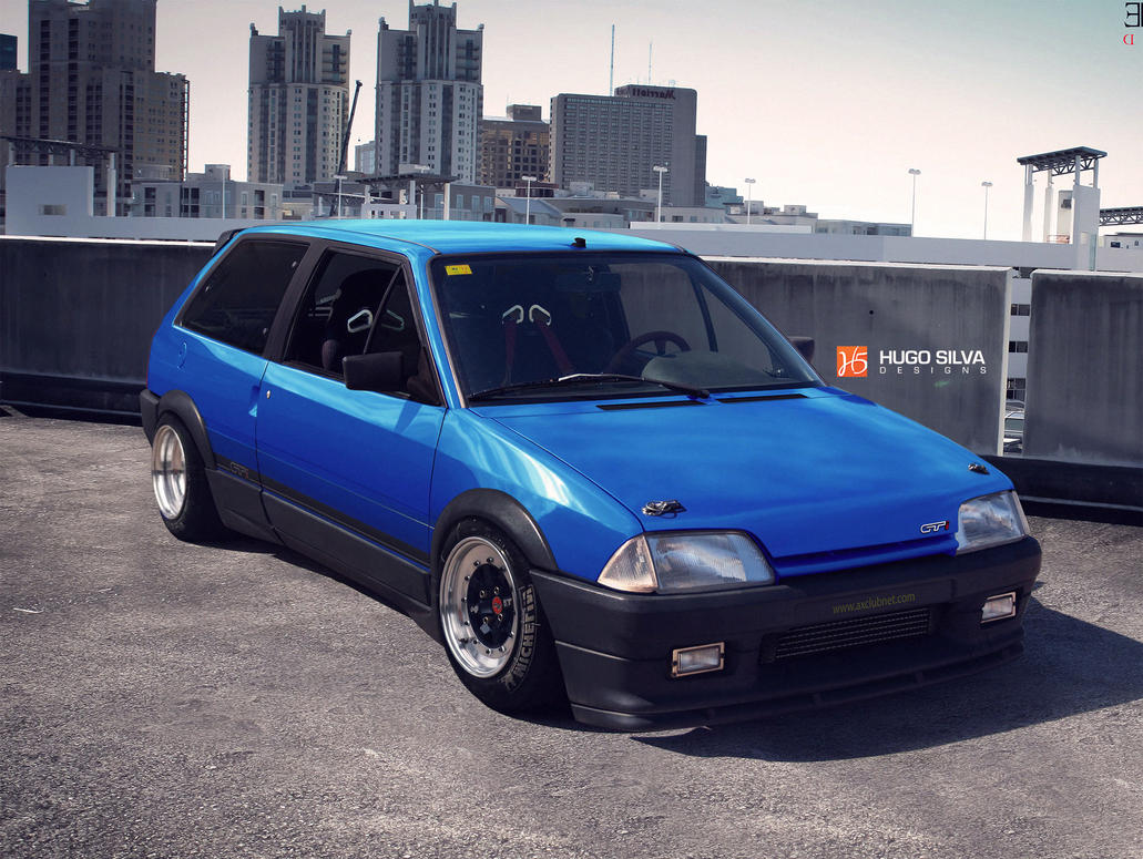 citroen ax gti by hugosilva on deviantart. Black Bedroom Furniture Sets. Home Design Ideas