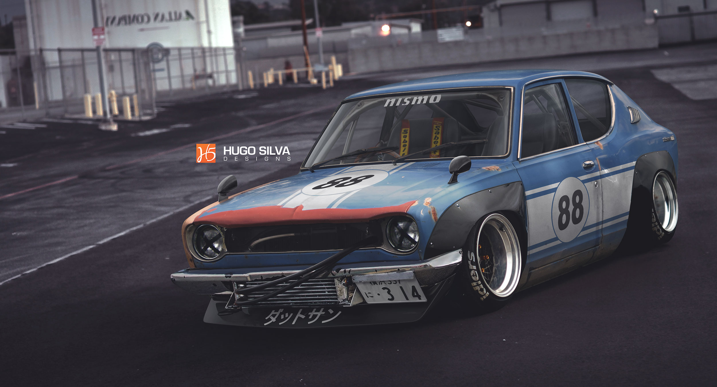 Datsun 100a By Hugosilva On Deviantart
