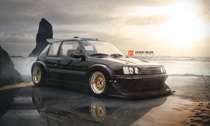 peugeot 205 on steroids
