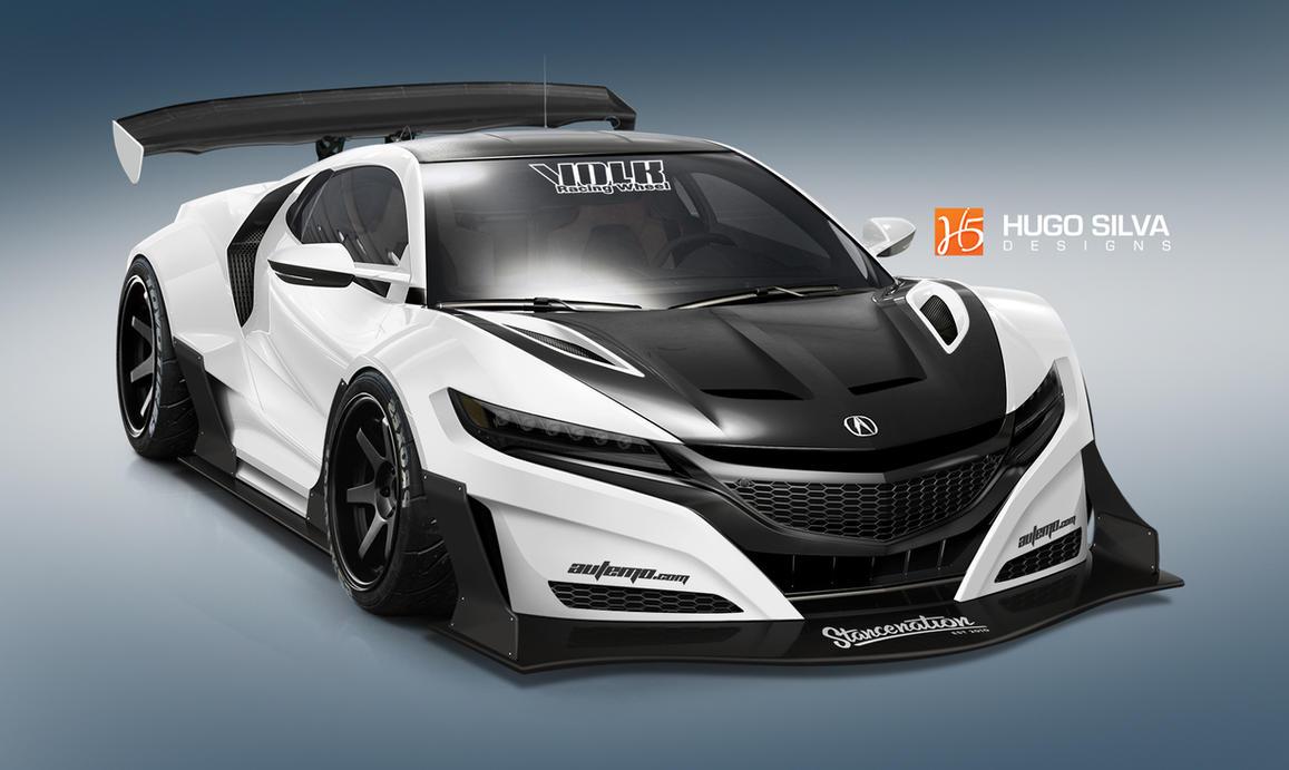 2015 Honda NSX by hugosilva