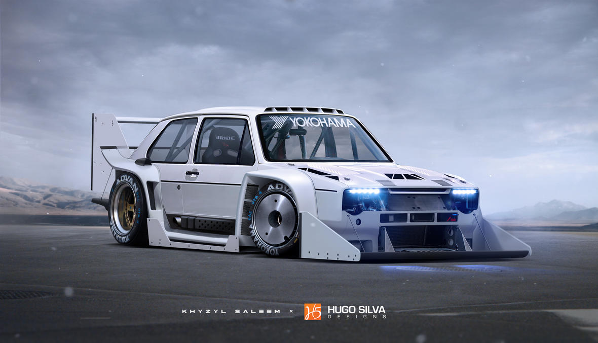 Volkswagen Golf Gti Pikes Peak By Hugosilva On Deviantart