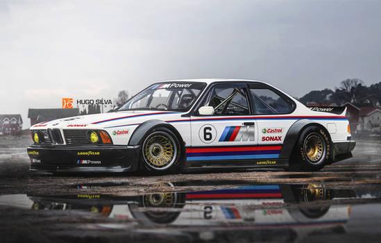 BMW M635 CSL race car