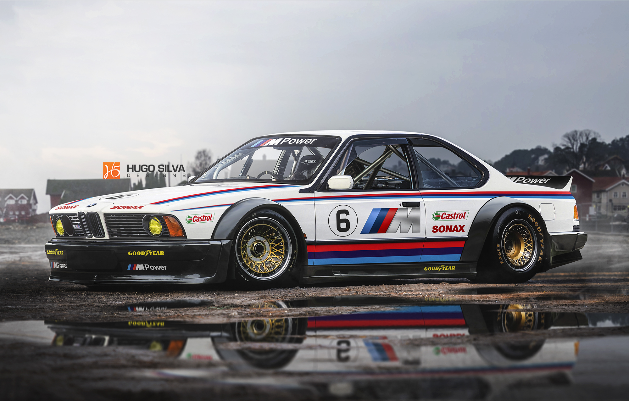 BMW M635 CSL Race Car By Hugosilva