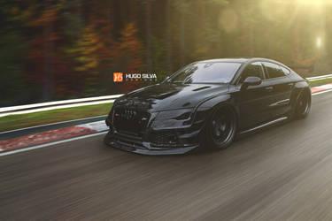 Audi RS7 Vader by hugosilva