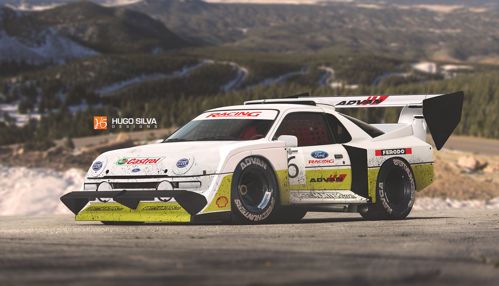 ford rs200 pikes peak by hugosilva on deviantart. Black Bedroom Furniture Sets. Home Design Ideas