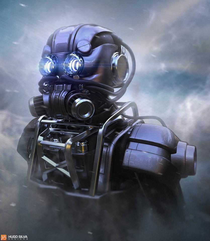 robot concept by hugosilva