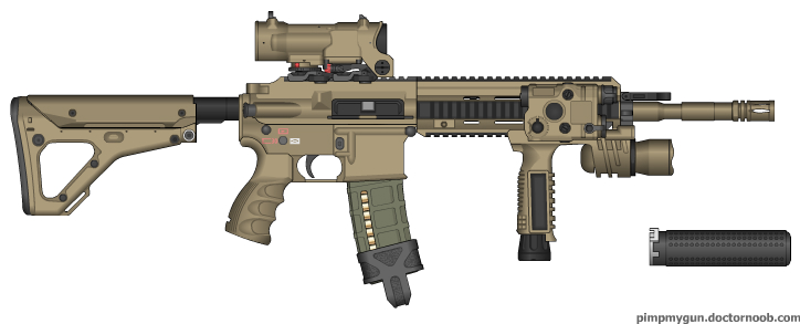HK 416 CUSTOM SMART SYSTEM by ...