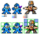 Bond Man and Mega Man? in 8-bit.