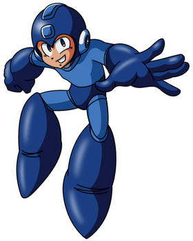 Mega Man 7 Art Style Practise - Mega Man