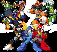 Mega Man Maker 1.5 Promotional Artwork by ZEDIC0N