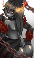 Hellhound by Ririkou-Adopts