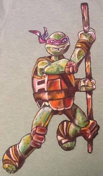 Donatello t-shirt.