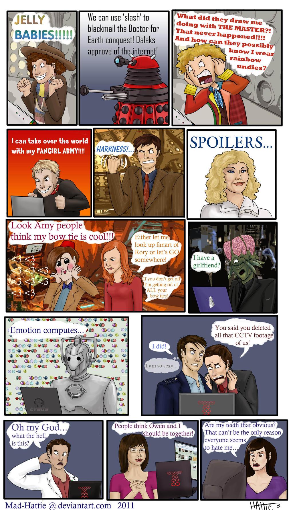 Doctor Who Finds deviantART by Mad-Hattie