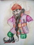 Mohammed the dwarf by Hekkil