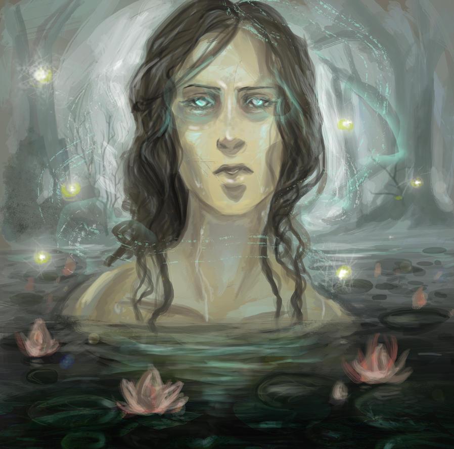 Swamp spirit by Hekkil