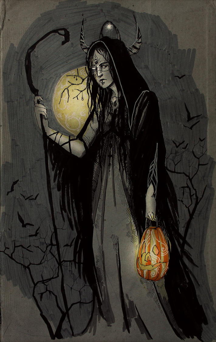 Halloween is coming by Hekkil