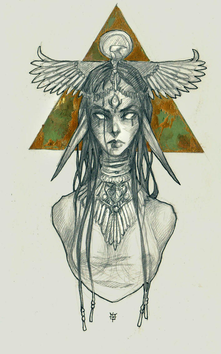 sphinx by Hekkil