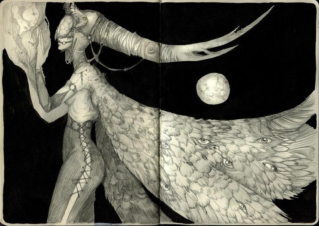moth 2 by Hekkil