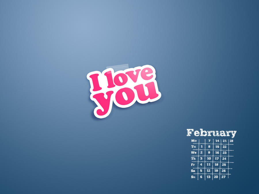 i love you -wallpaper by ims-corner