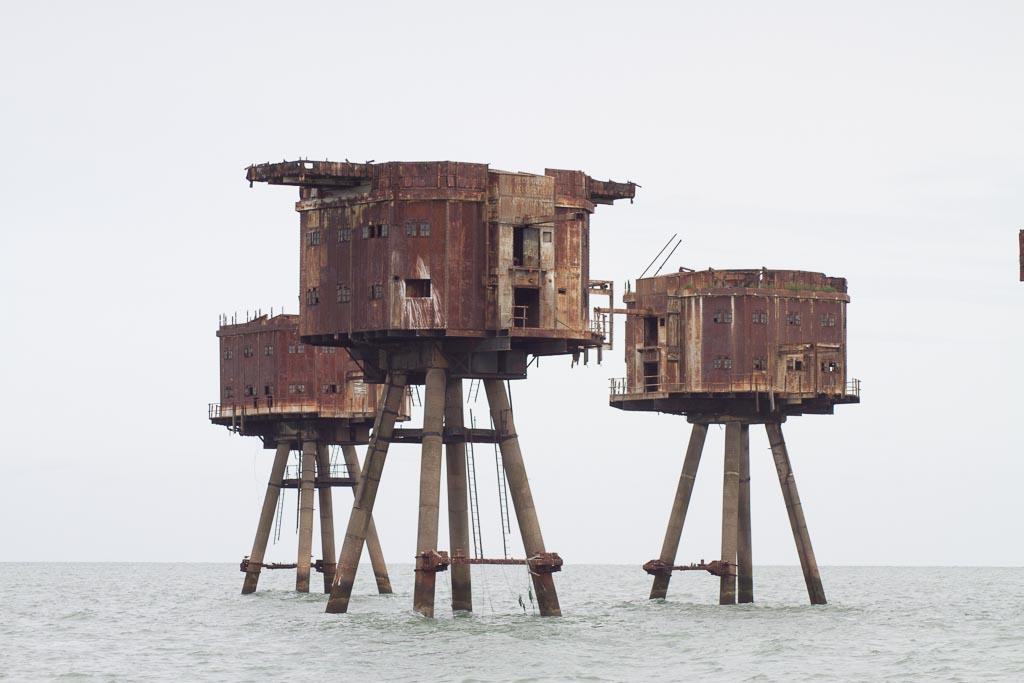 Maunsell Forts by LughoftheLongArm