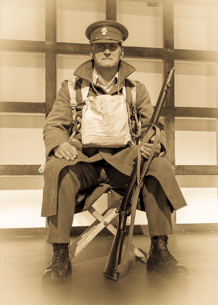 WW1 Soldier by LughoftheLongArm