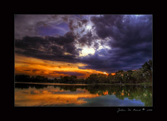 When Summer Paints the Sky by kkart