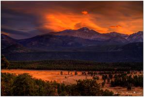 A Western Sky Fire by kkart