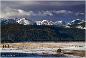 Winter Along The Range by kkart