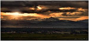 Summer Sunset Storms