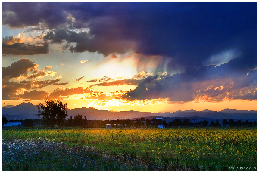 A Painters Sunset by kkart