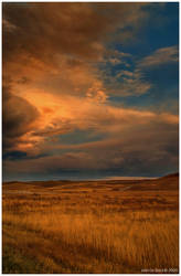 Evening Skies of Winter by kkart