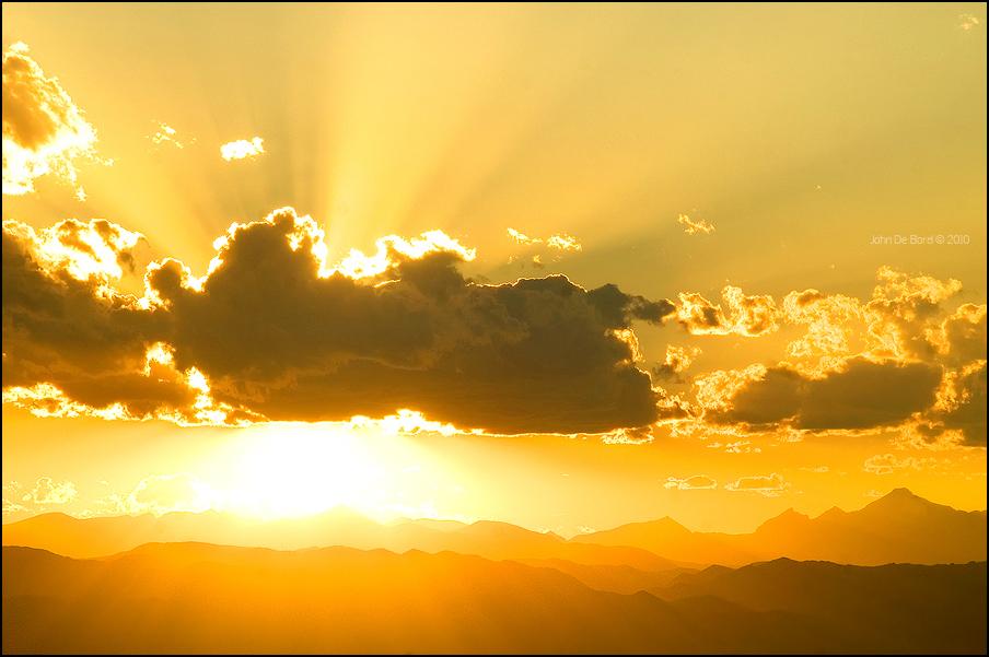 God's Sunset by kkart