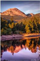 Morning Light At Lake Copeland by kkart