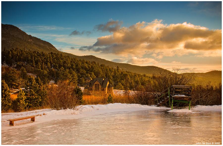 The Frozen Sunrise by kkart