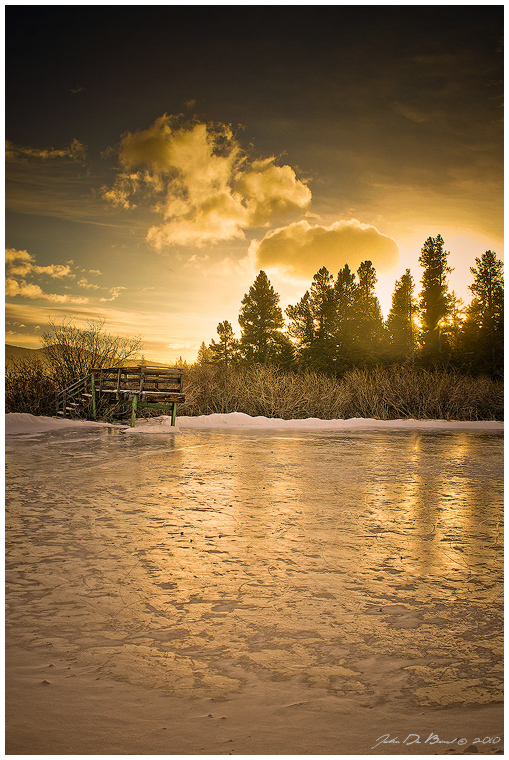The Dock Of Winter 3 by kkart