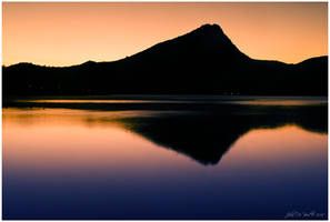 Morning Glow Of Lake Estes by kkart