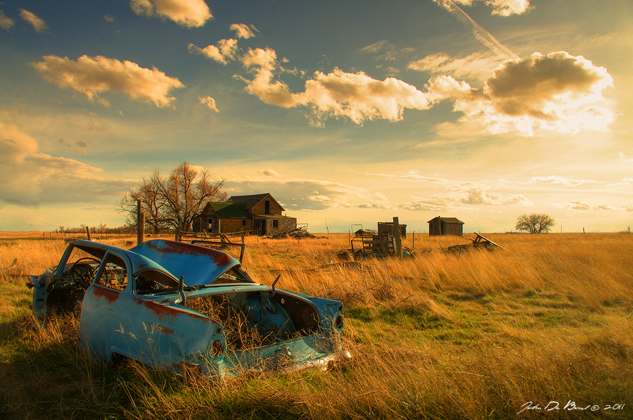 Old Fords And Farms