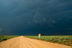 Dirt Roads and Thunderstorms by kkart