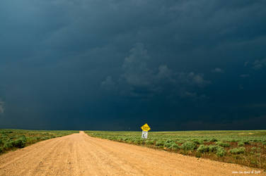 Dirt Roads and Thunderstorms